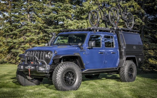 Jeep Gladiator Top Dog Concept 2020 4K