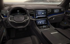 Jeep Grand Wagoneer Concept 2020 4K Interior