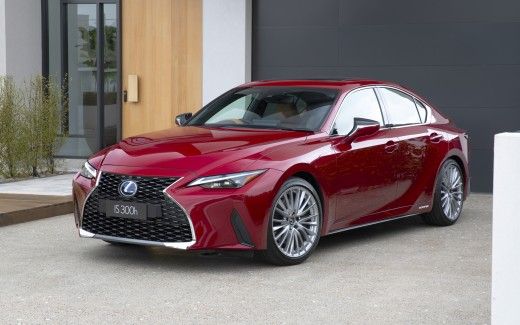 Lexus IS 300h Luxury 2021 4K