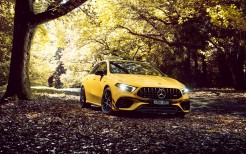 Mercedes-AMG A 45 S 4MATIC Aerodynamic Package 2020 4K