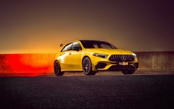 Mercedes-AMG A 45 S 4MATIC Aerodynamic Package 2020 4K 2