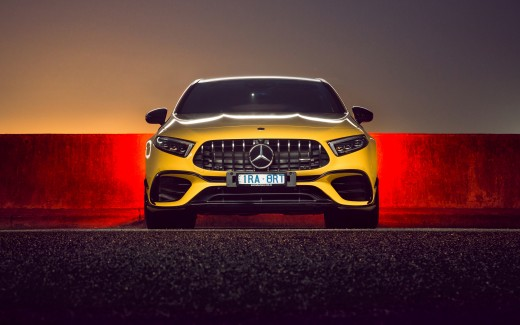 Mercedes-AMG A 45 S 4MATIC Aerodynamic Package 2020 4K 3