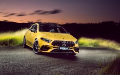 Mercedes-AMG A 45 S 4MATIC Aerodynamic Package 2020 4K 4