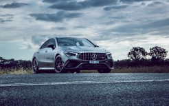 Mercedes-AMG CLA 45 S 4MATIC Aerodynamic Package 2020 4K