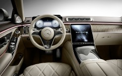 Mercedes-Maybach S 580 2021 4K Interior
