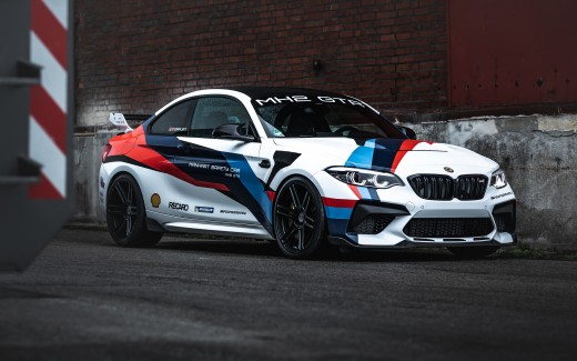 Manhart MH2 GTR BMW M2 CS 2021 5K 4