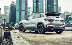 Mercedes-AMG GLA 45 S 4MATIC+ Aerodynamic Package 2021 4K 4