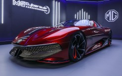 MG Cyberster Concept 2021 5K