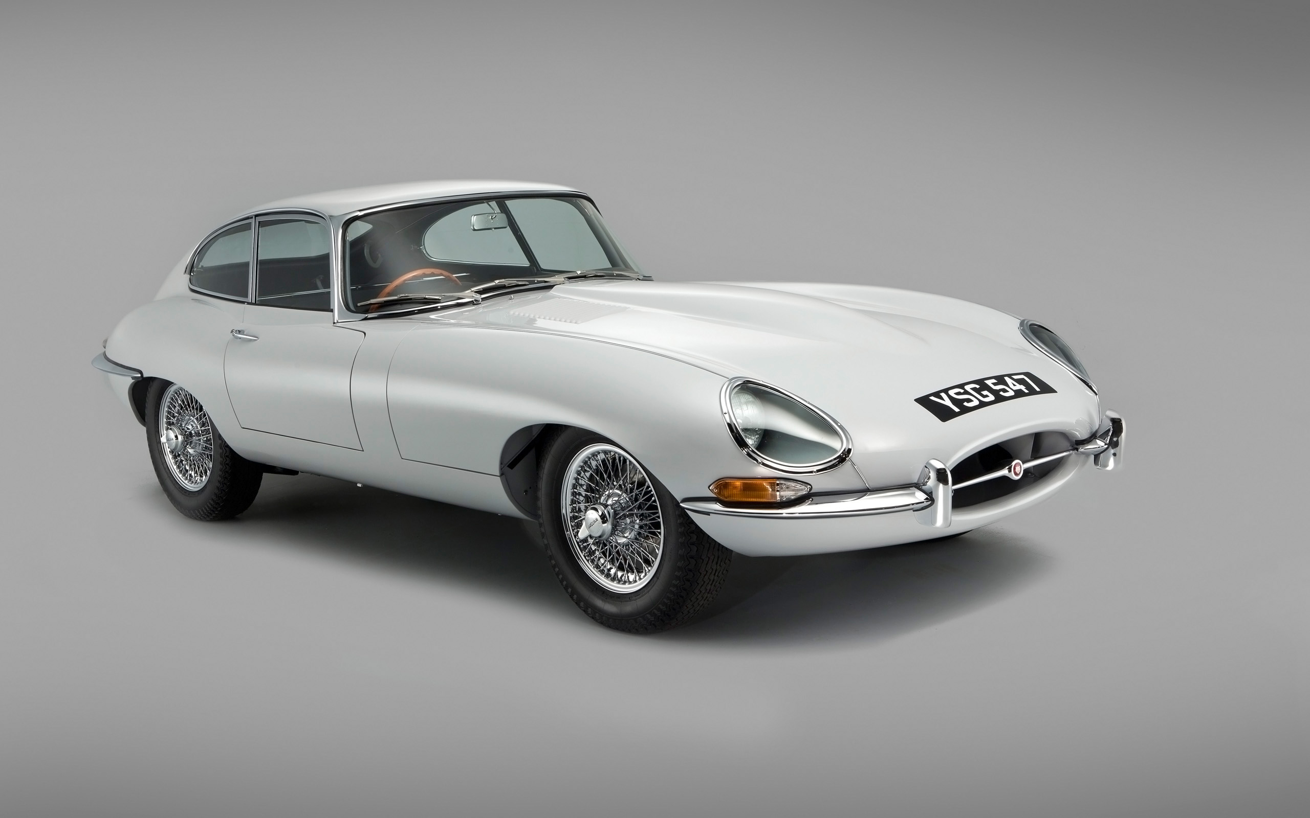 1961 Jaguar E Type Coupe Number 15 Wallpaper | HD Car ...