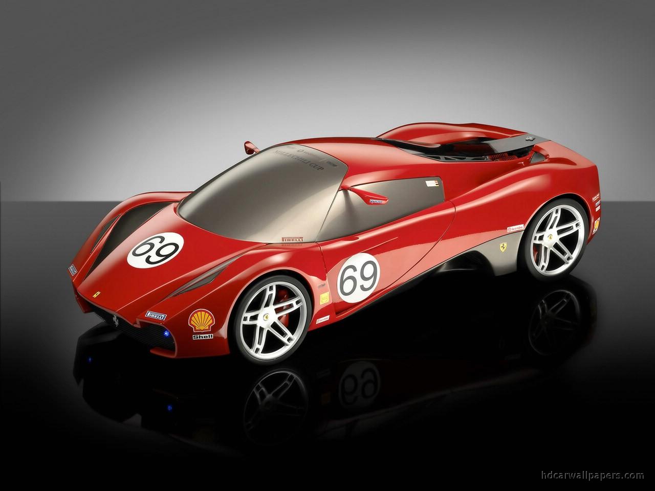 Ferrari Design Competition F Zero Wallpaper HD Car
