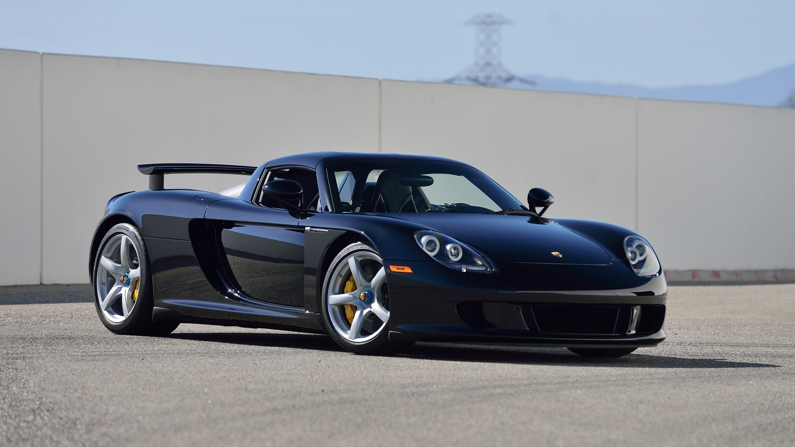 2005 porsche carrera gt basalt wallpaper | hd car wallpapers | id #6877