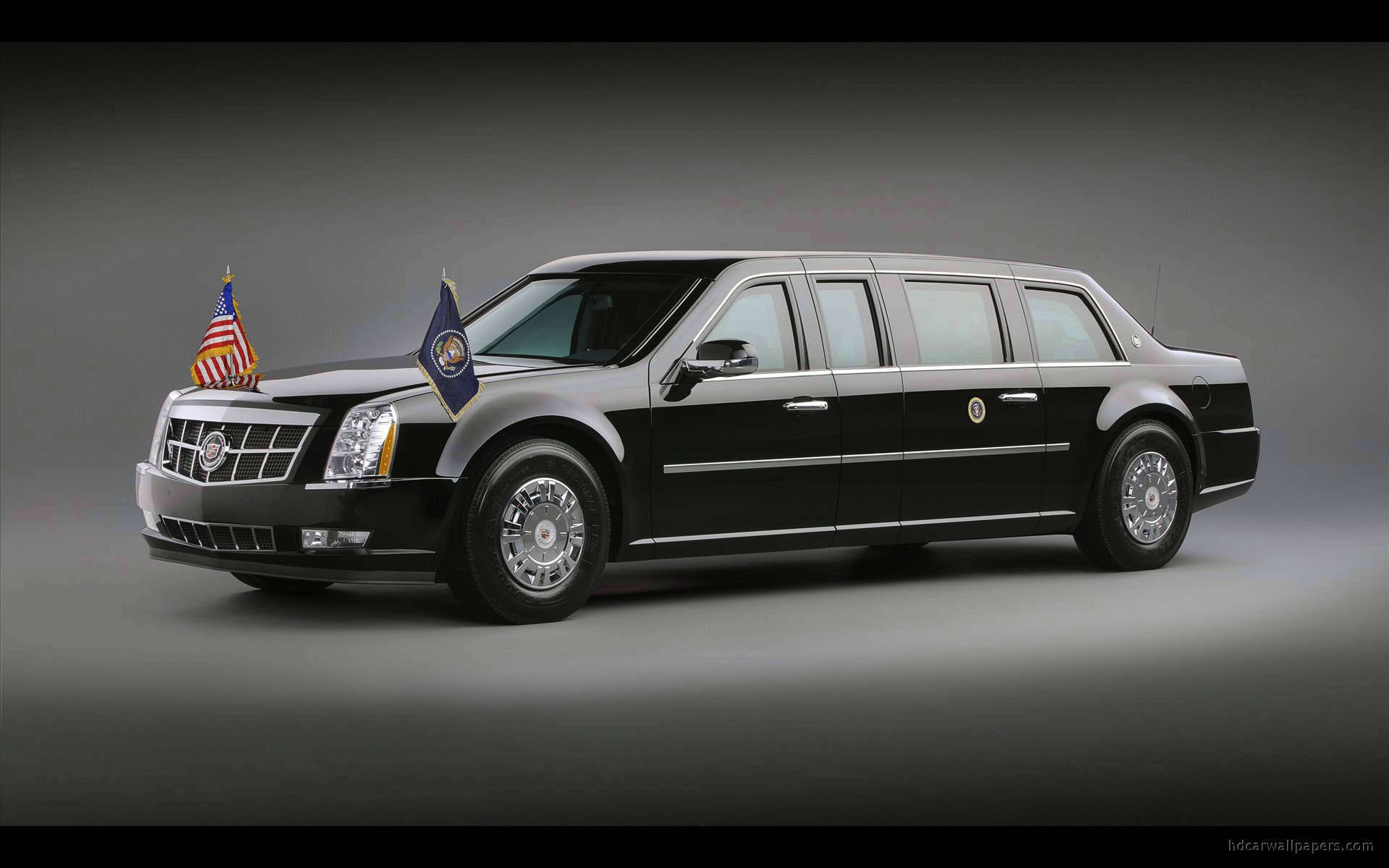 2009 Cadillac Presidential Limousine Wallpaper Hd Car Wallpapers