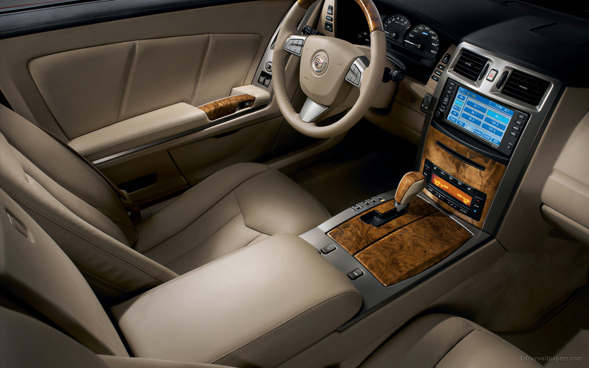 2009 Cadillac Xlr Interior Wallpaper Hd Car Wallpapers