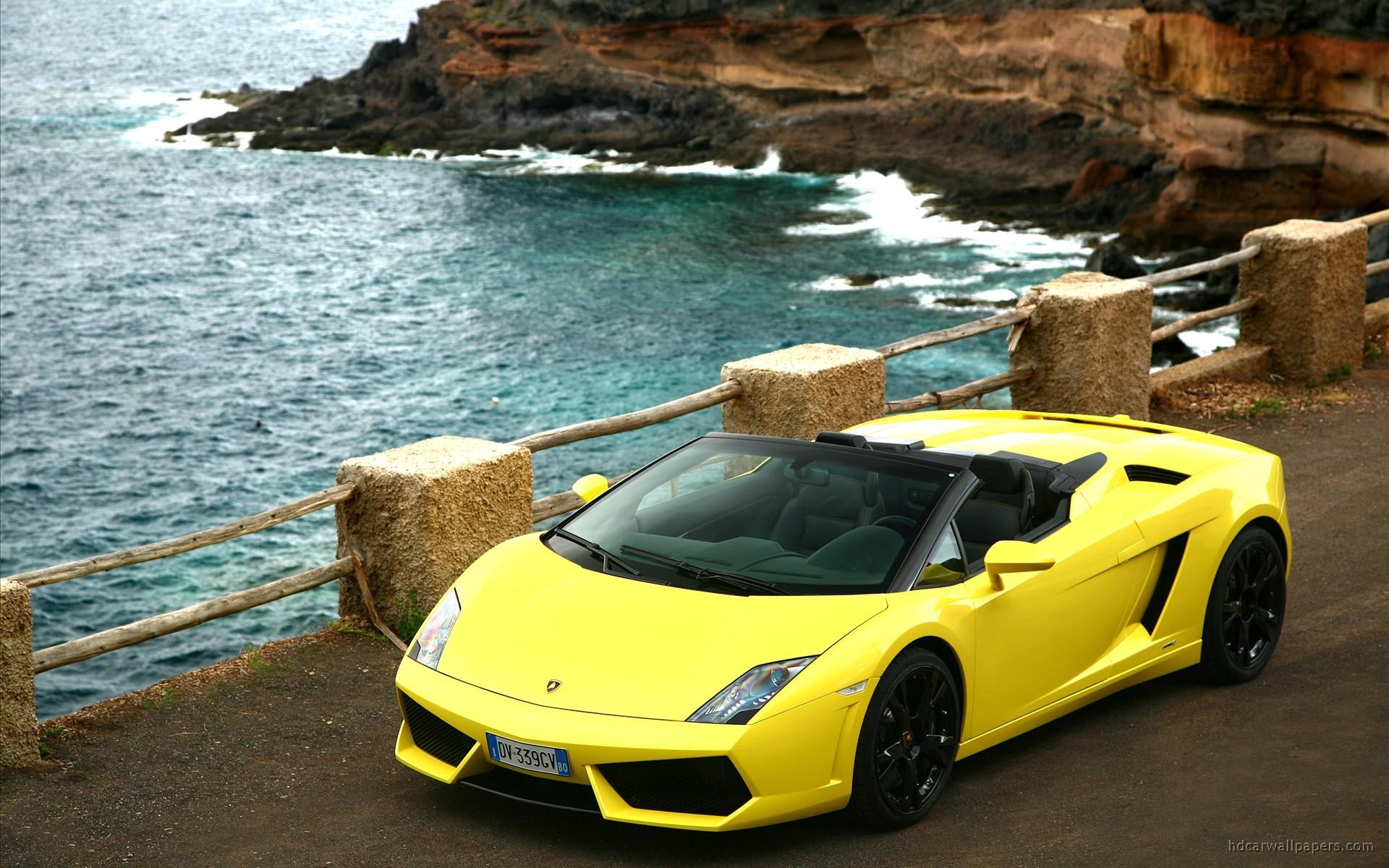 2009 Lamborghini Gallardo Lp560 4 Spyder 2 Wallpaper Hd Car