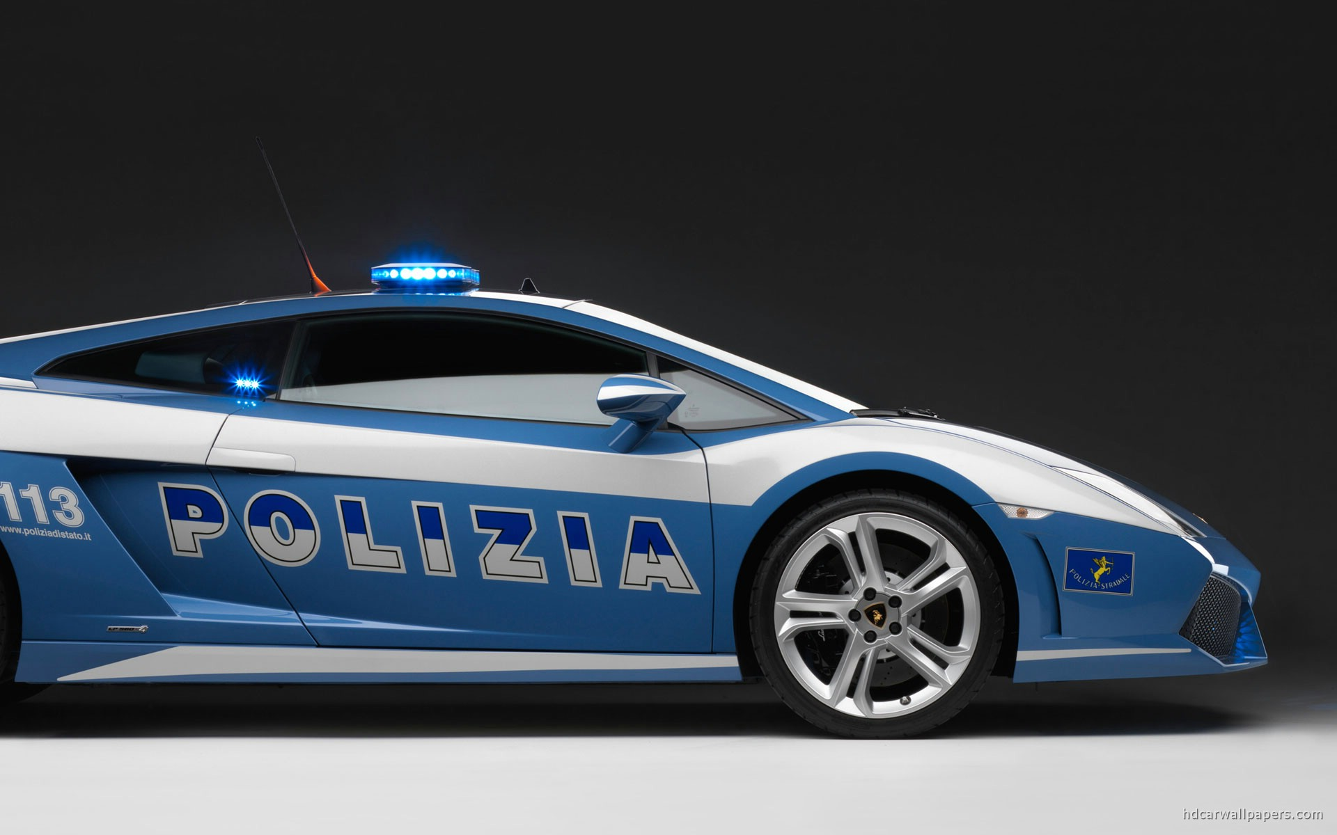 2009 lamborghini police car wallpaper | hd car wallpapers | id #863