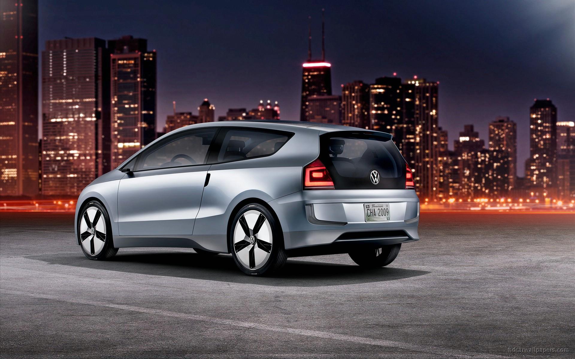 2009 Volkswagen Up Lite Concept 3 Wallpaper Hd Car