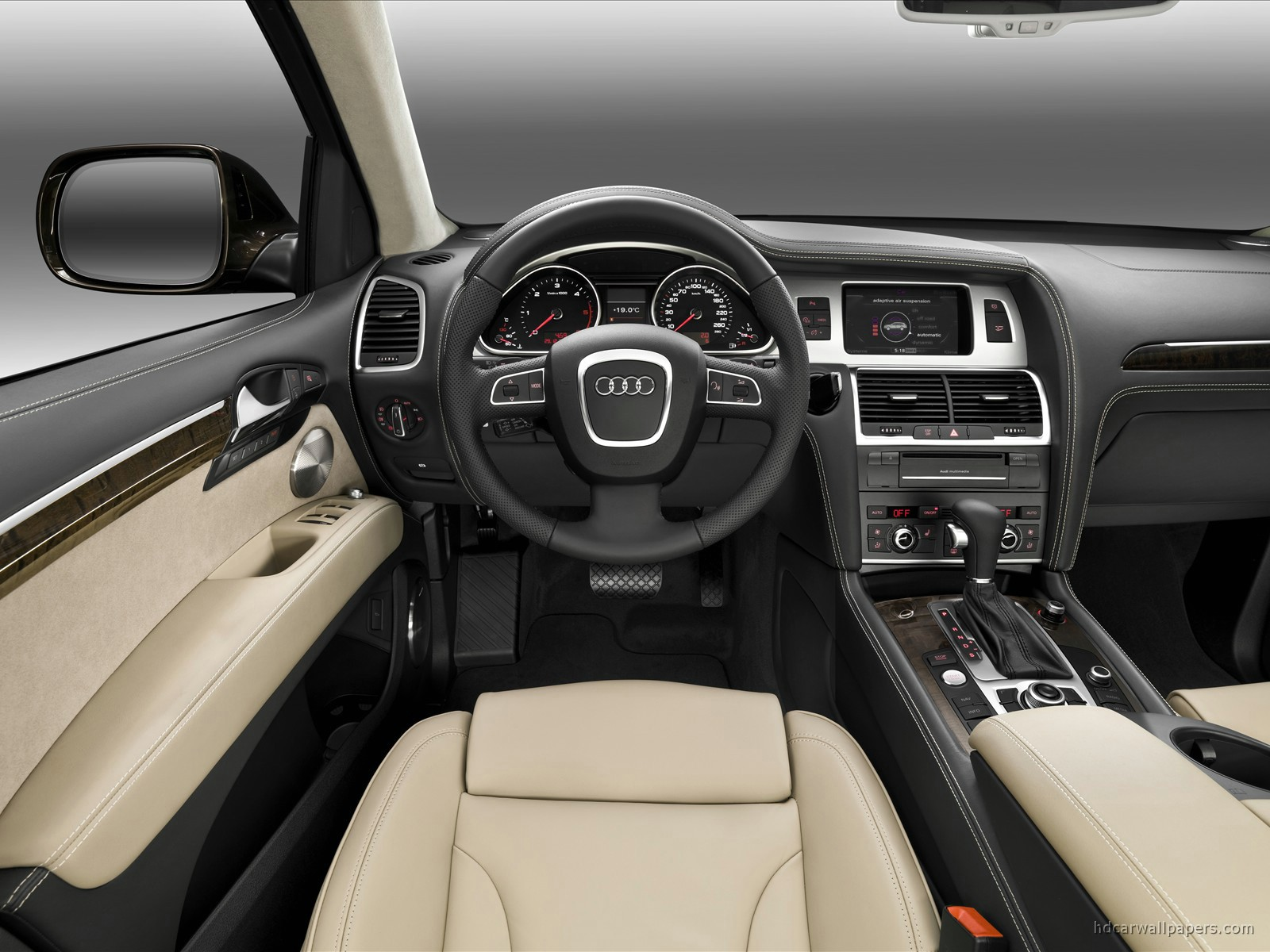 2010 Audi Q7 Interior Wallpaper Hd Car Wallpapers Id 203