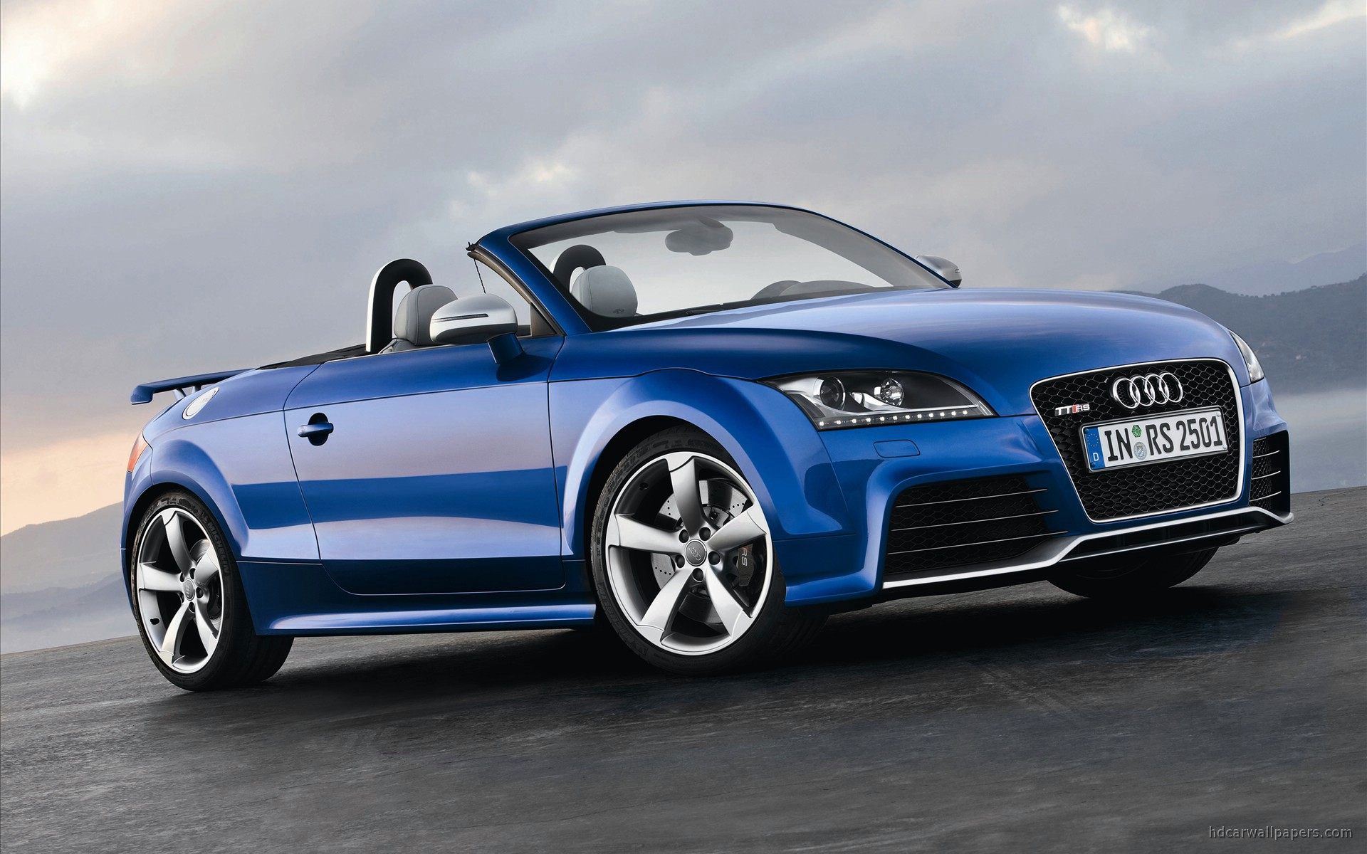 2010 audi tt rs roadster wallpaper hd car wallpapers. Black Bedroom Furniture Sets. Home Design Ideas