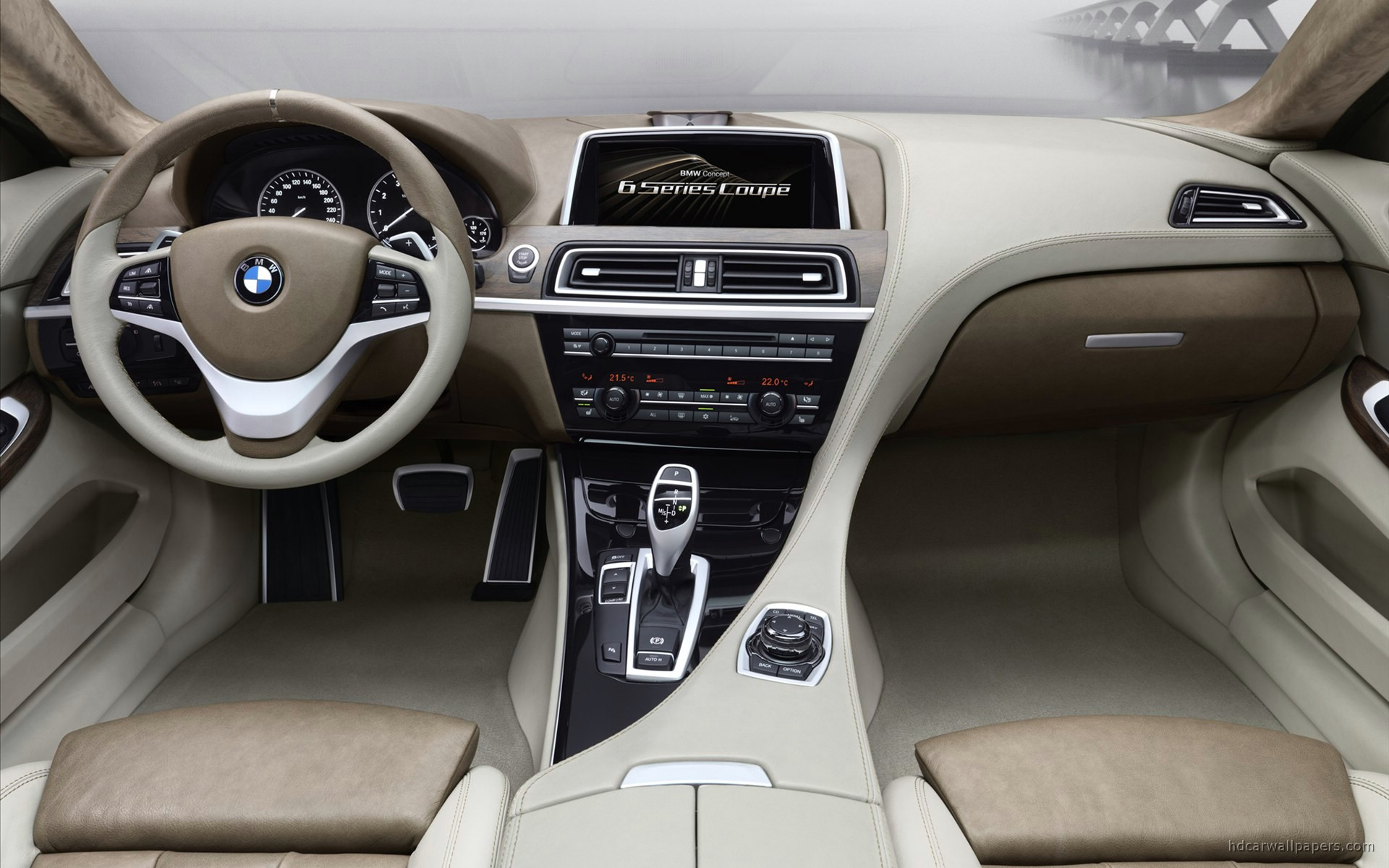 2010 Bmw 6 Series Concept Interior Wallpaper Hd Car Wallpapers Id 1653