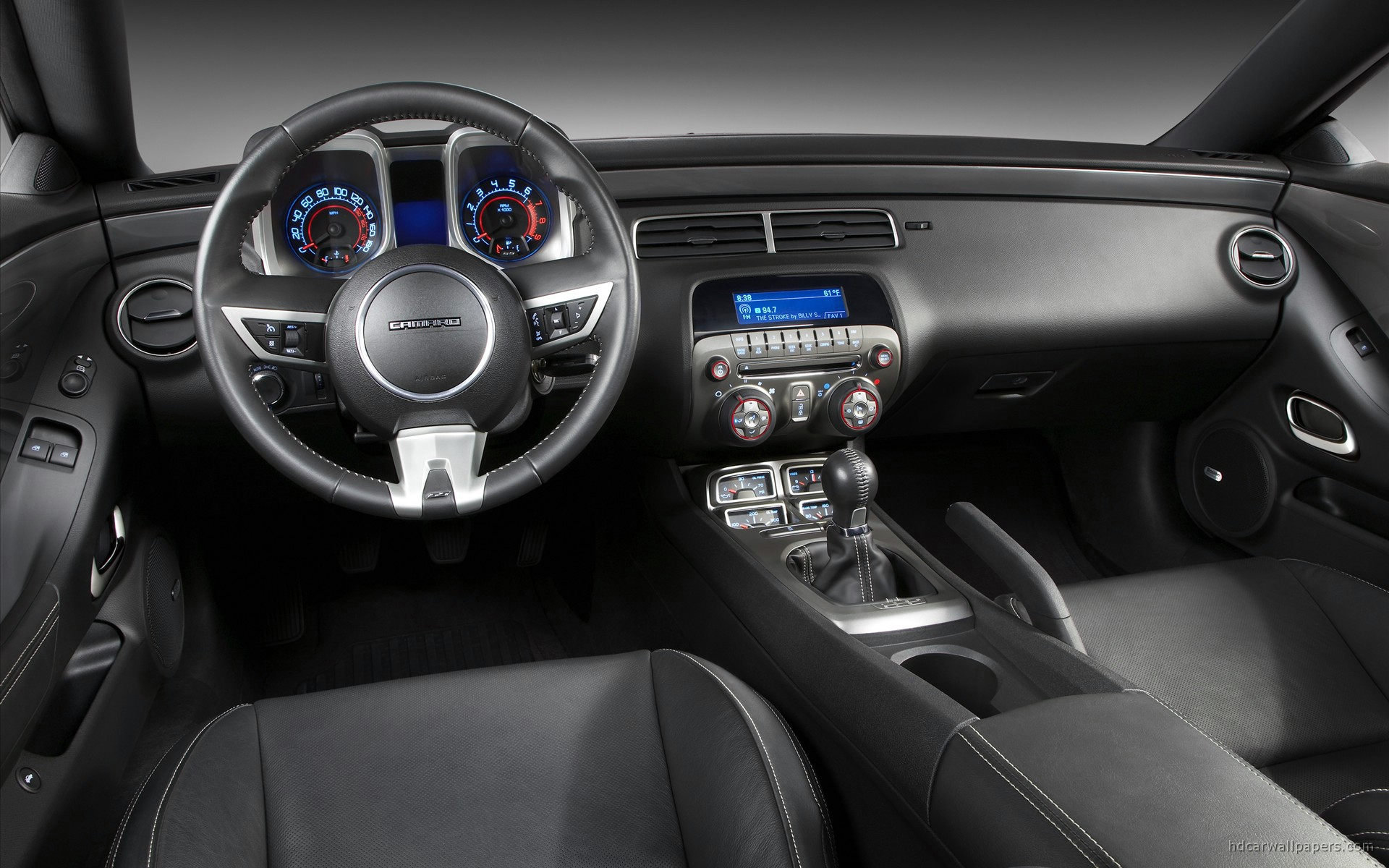 2010 Chevrolet Camaro Ss Interior Wallpaper Hd Car