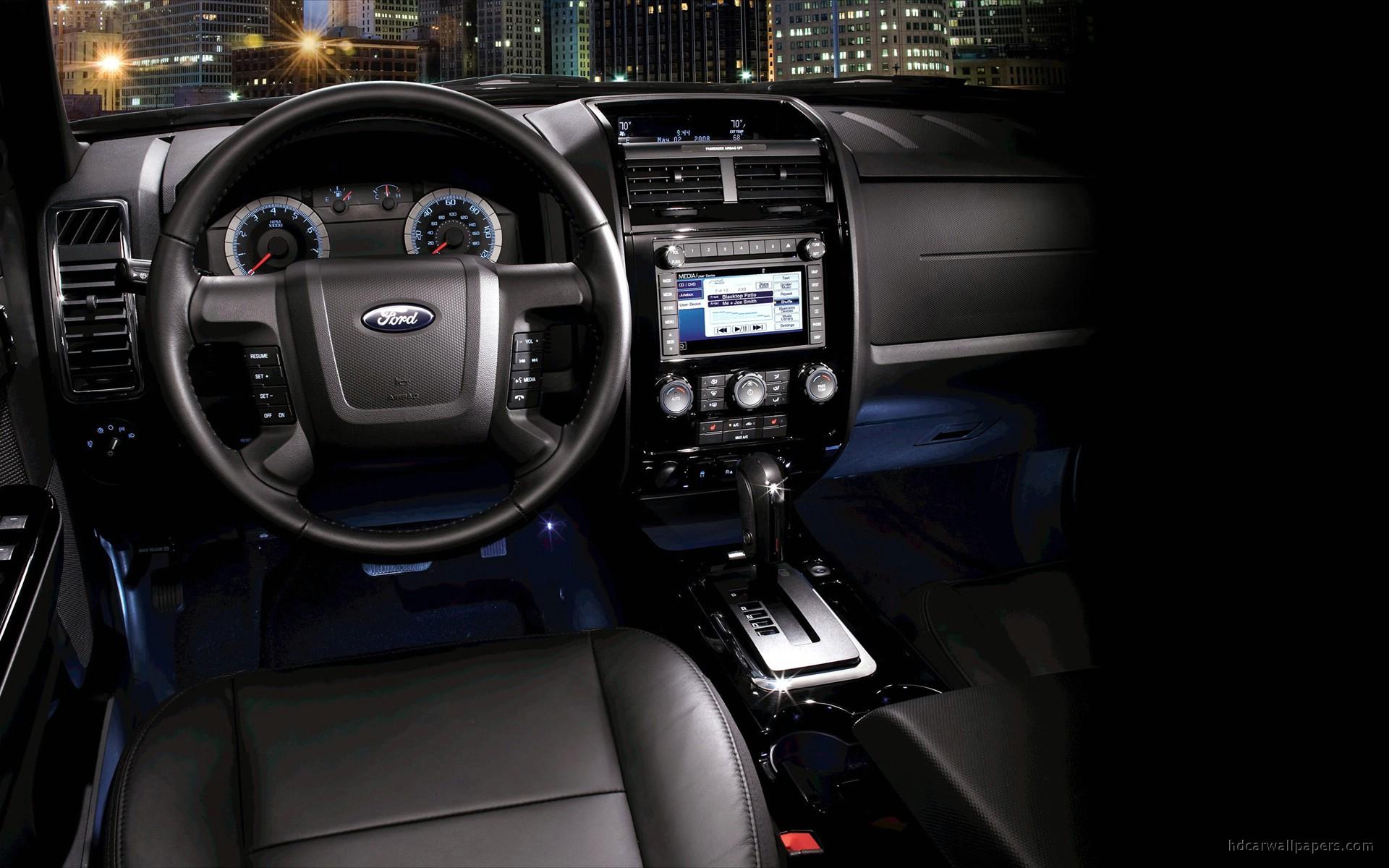 2010 Ford Escape Interior Wallpaper