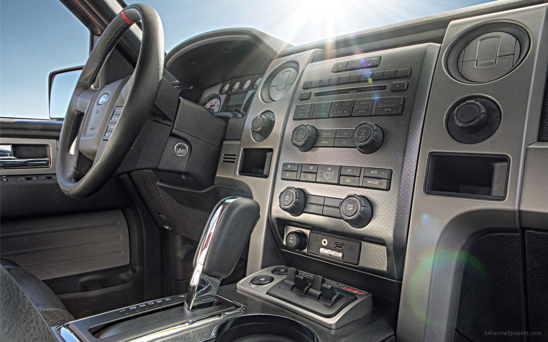 2010 Ford F150 SVT Raptor Interior Wallpaper  HD Car Wallpapers