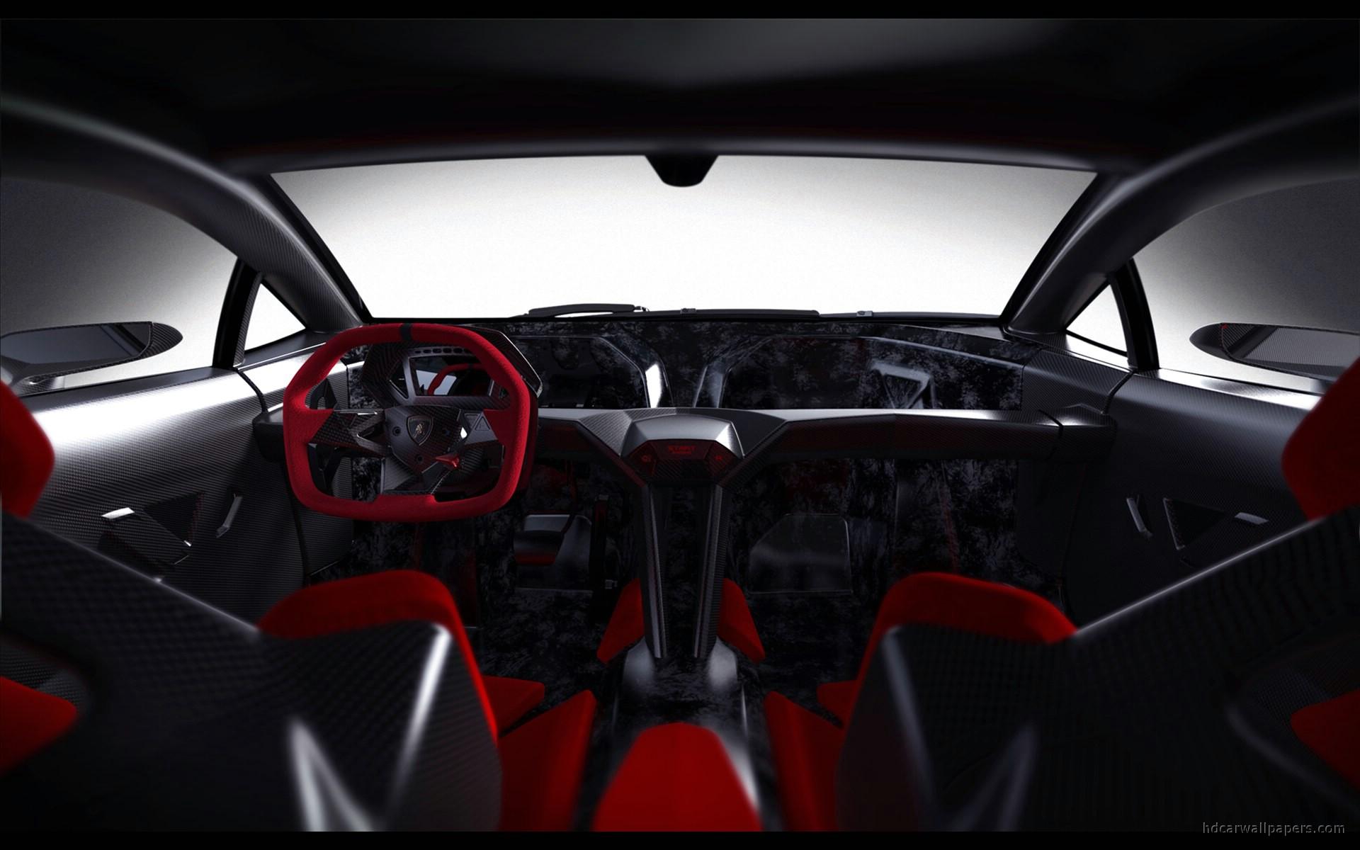 2010 Lamborghini Sesto Elemento Concept Interior Wallpaper ...