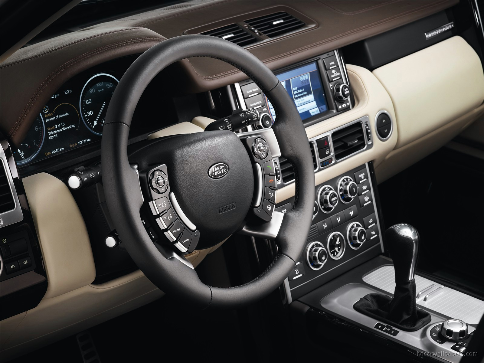 2010 land rover range rover interior wallpaper hd car wallpapers id 1106. Black Bedroom Furniture Sets. Home Design Ideas