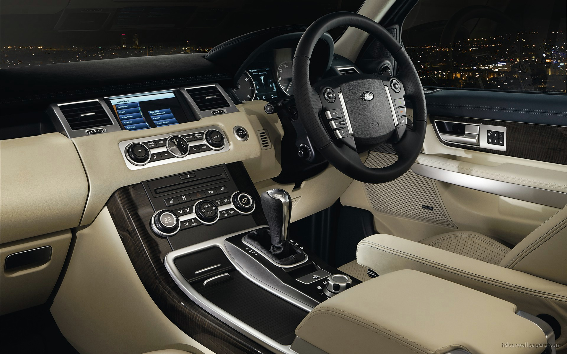 2010 Land Rover Range Rover Sport Interior Wallpaper Hd Car