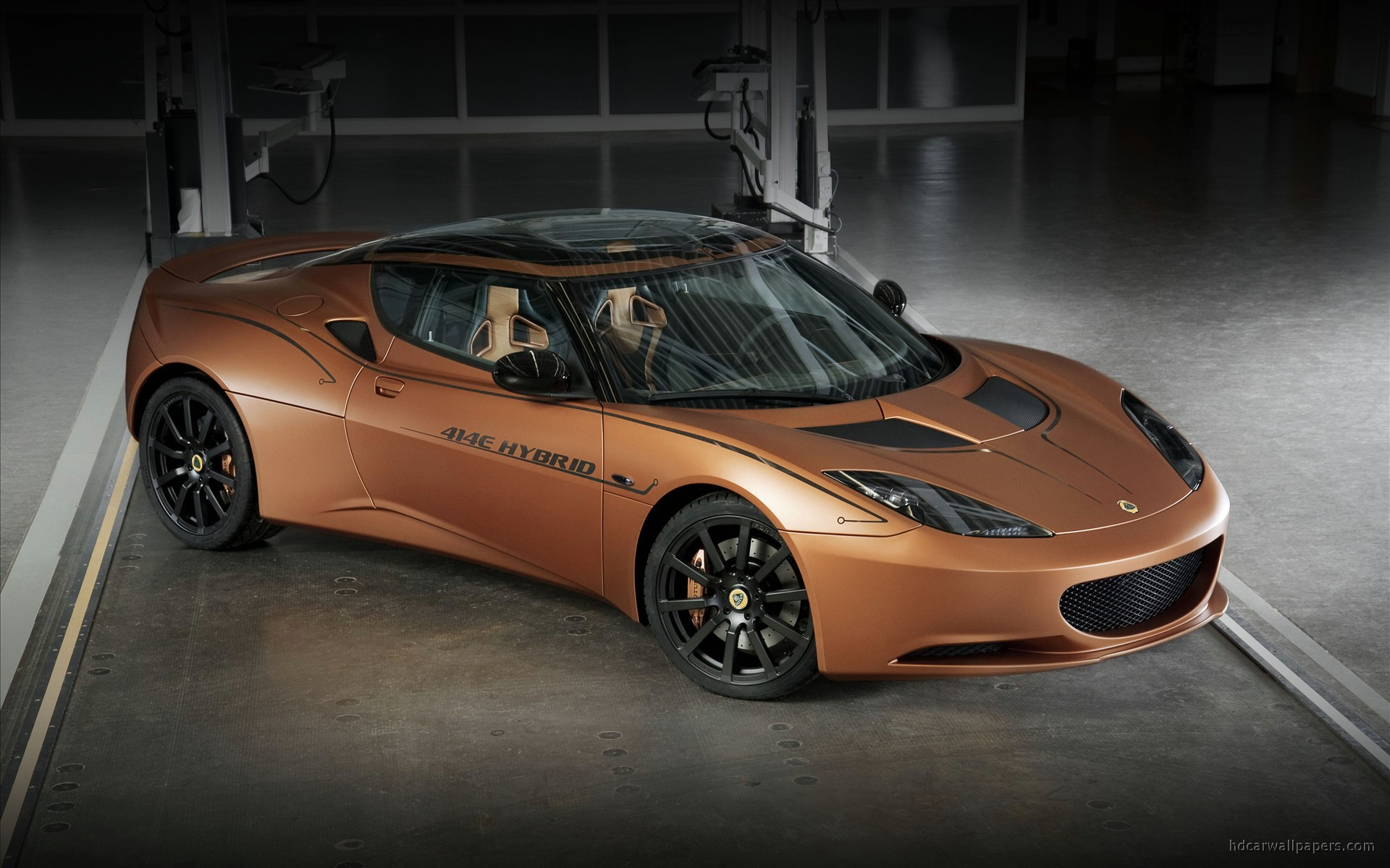 2010 lotus evora 414e hybrid wide