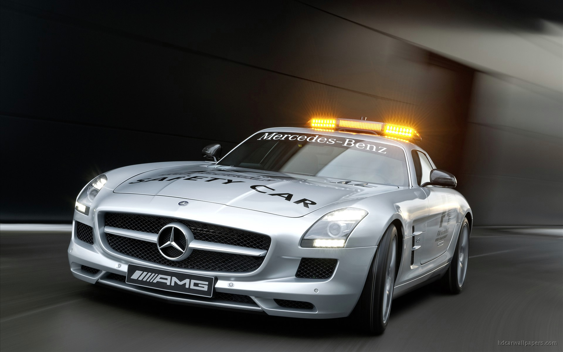 2010 mercedes benz sls amg f1 safety car 3 wallpaper hd for Mercedes benz cars pictures