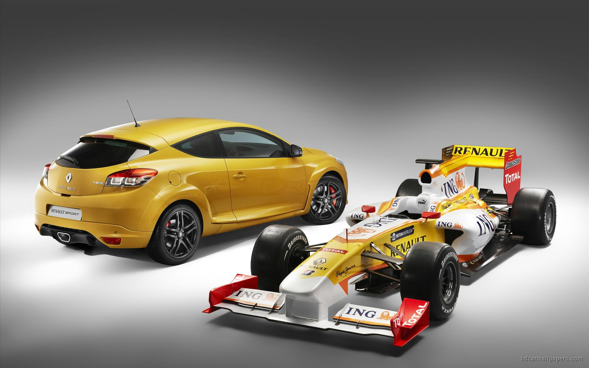 2010 New Megane Renault Sport 3 Wallpaper