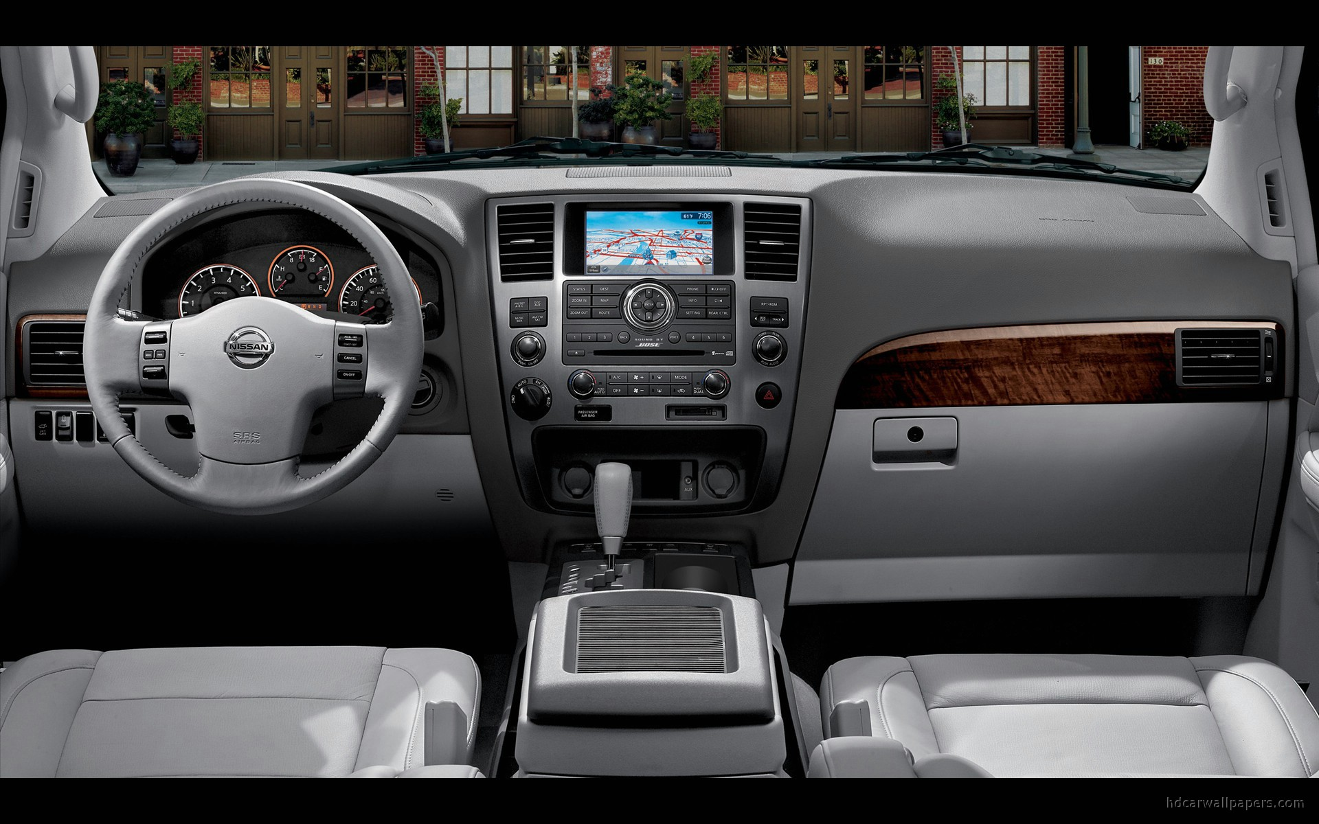 2010 Nissan Armada Interior Wallpaper Hd Car Wallpapers