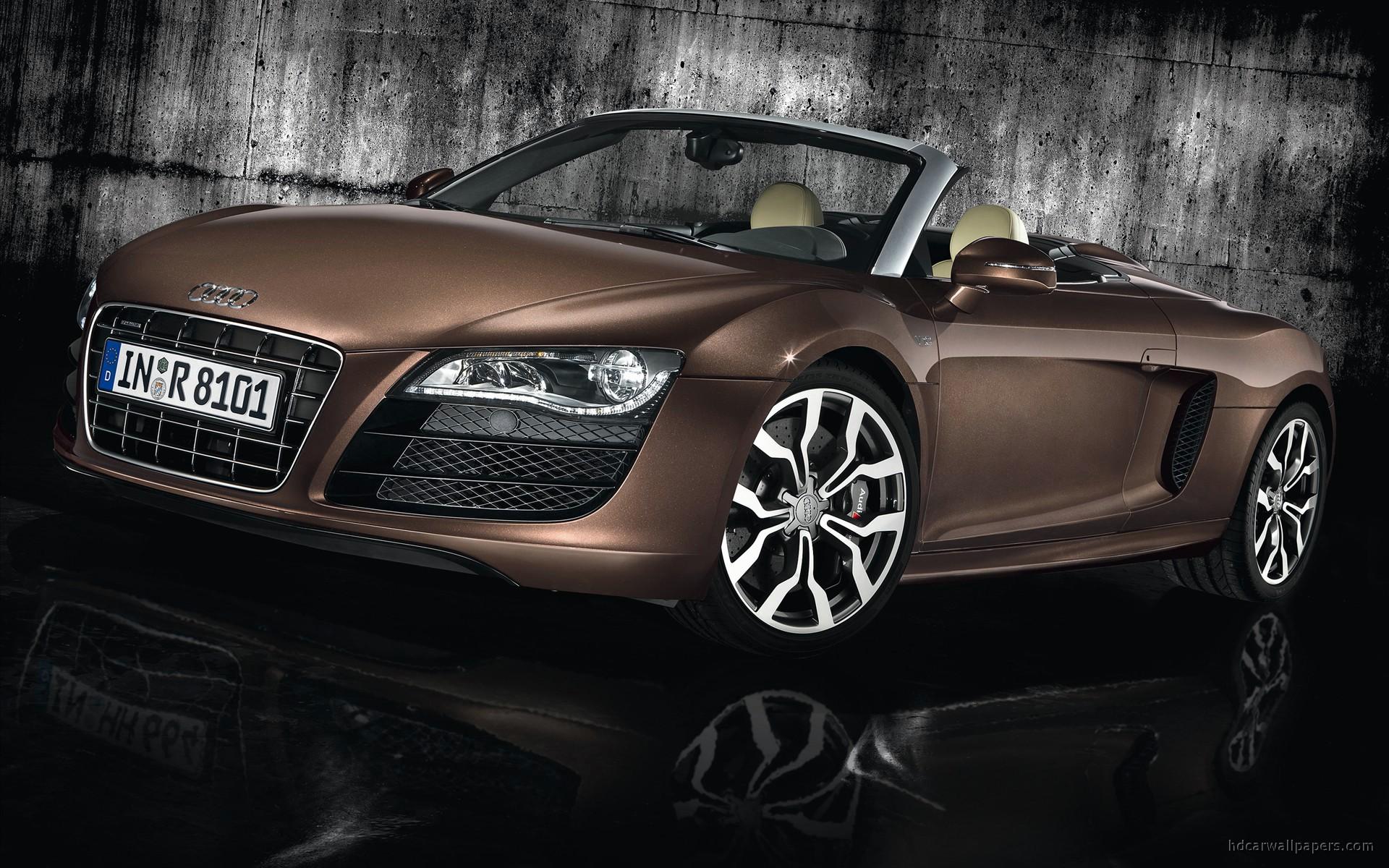 2011 Audi R8 Spyder 5.2 FSI Quattro Wallpaper   HD Car ...