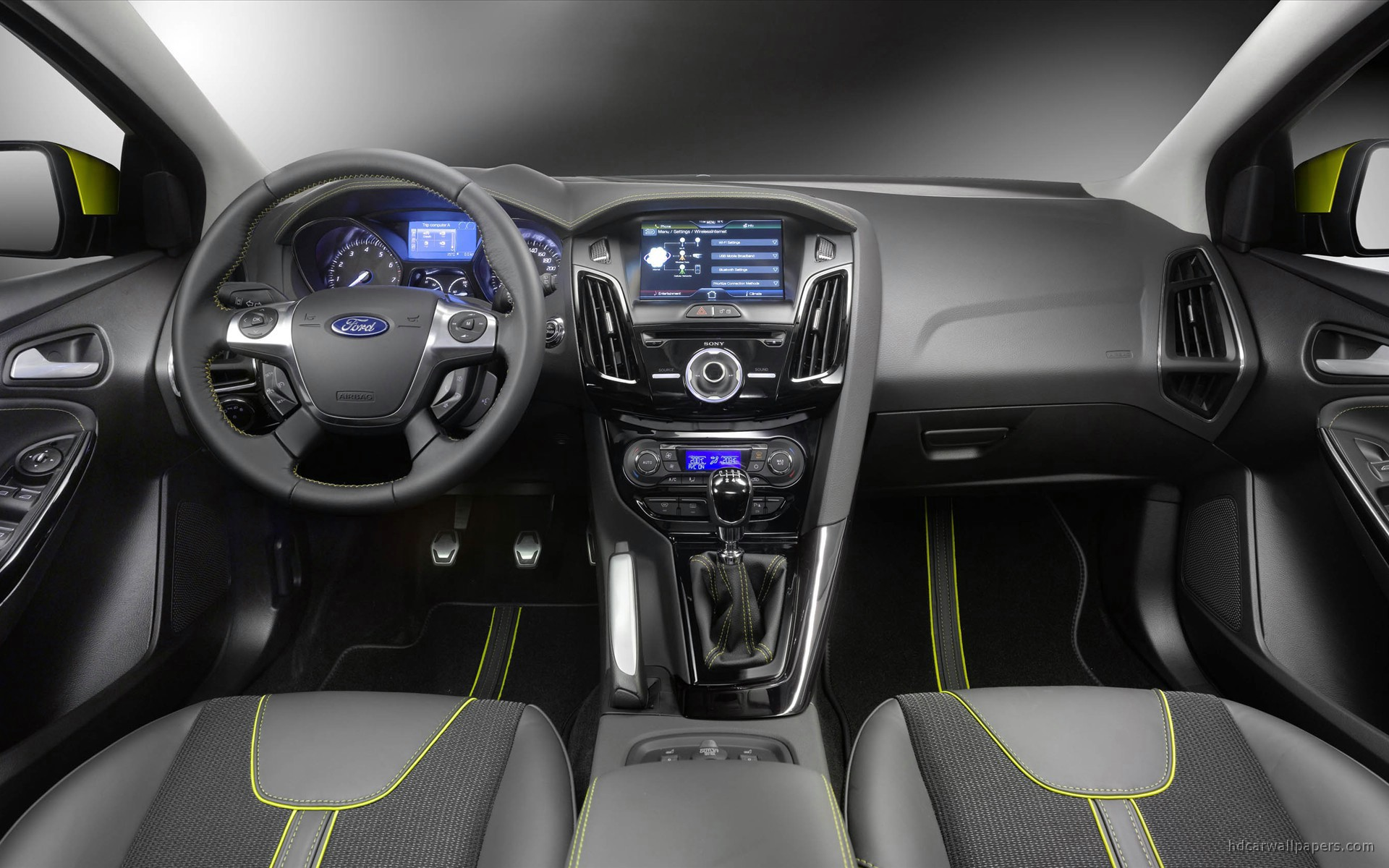 2011 Ford Focus Estate Interior Wallpaper | HD Car ...