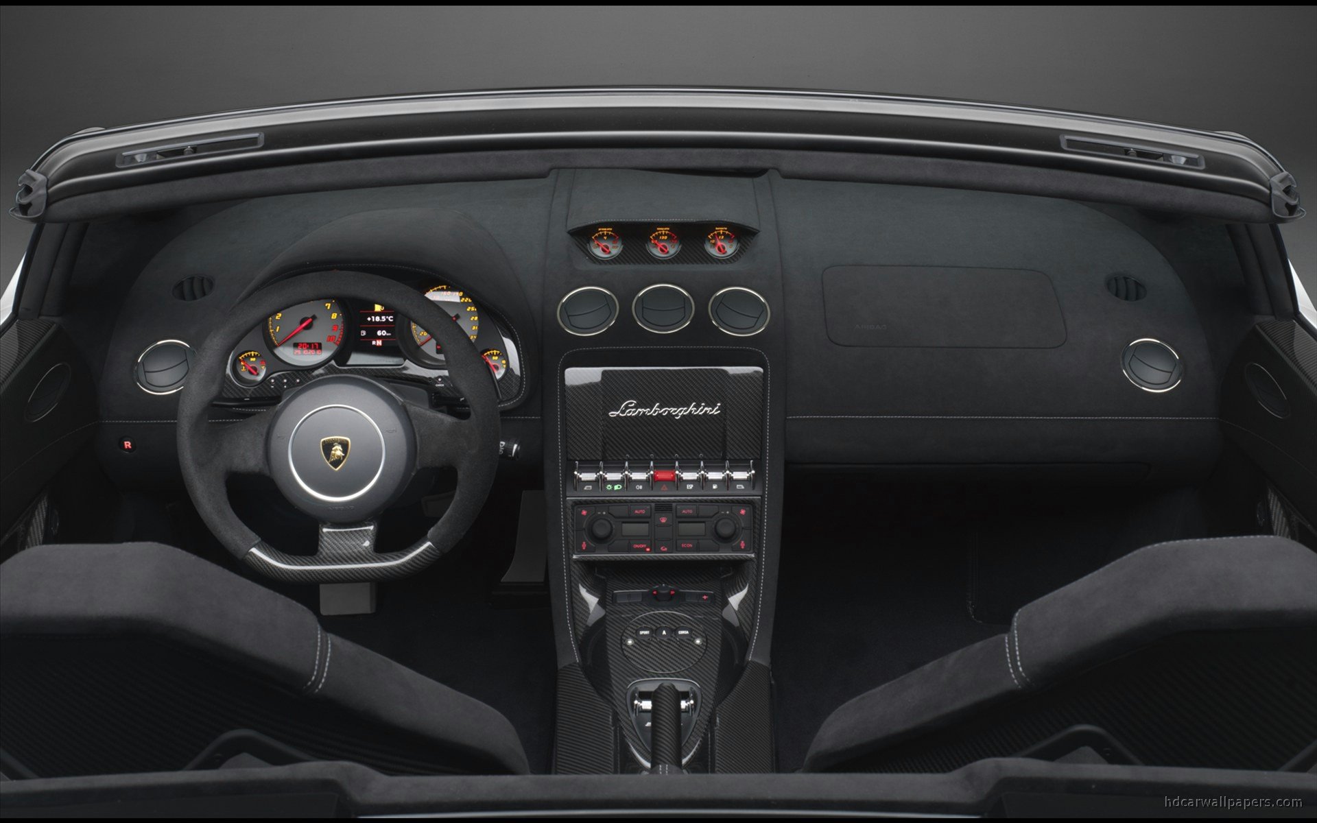 2011 Lamborghini Gallardo Lp570 4 Spyder Performante Interior