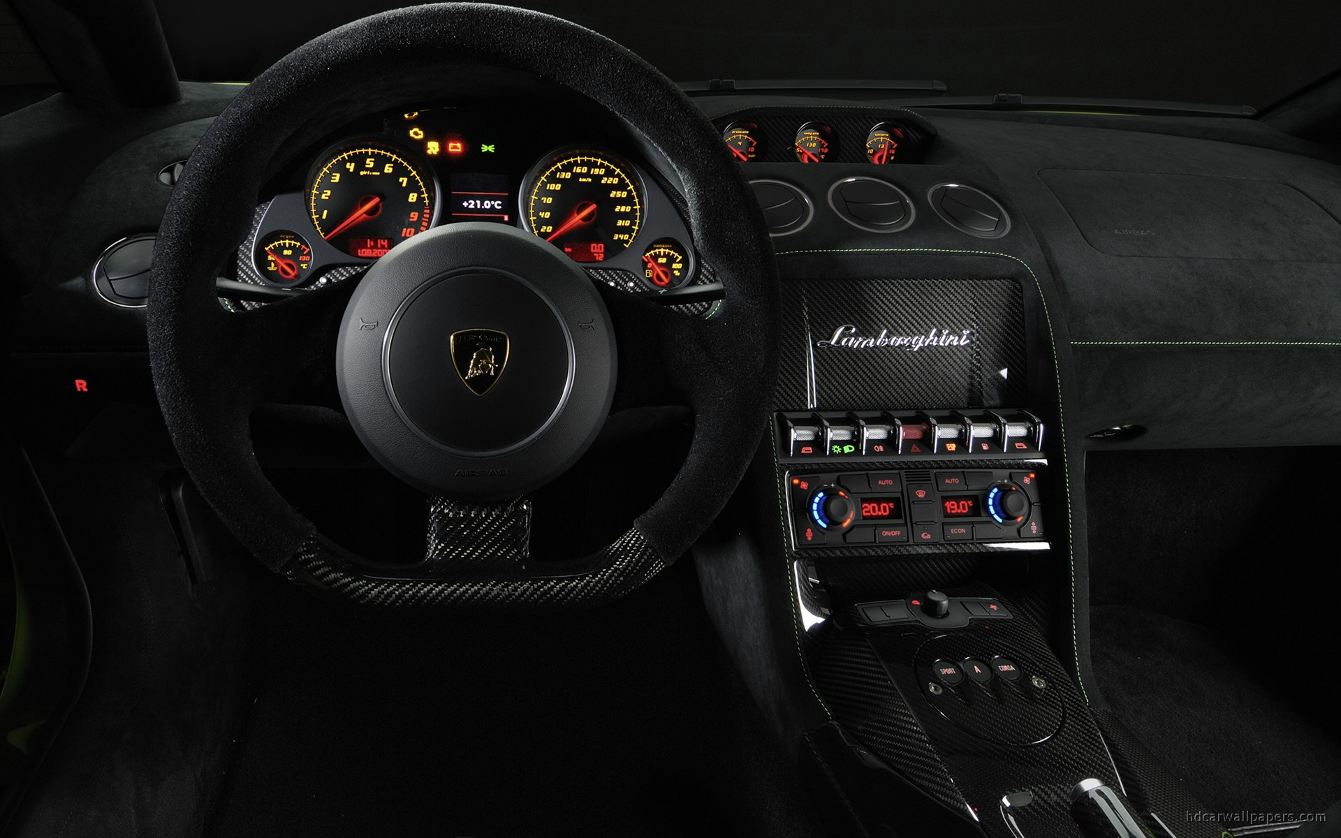 2011 Lamborghini Gallardo Lp 570 4 Superleggera Interior Wallpaper