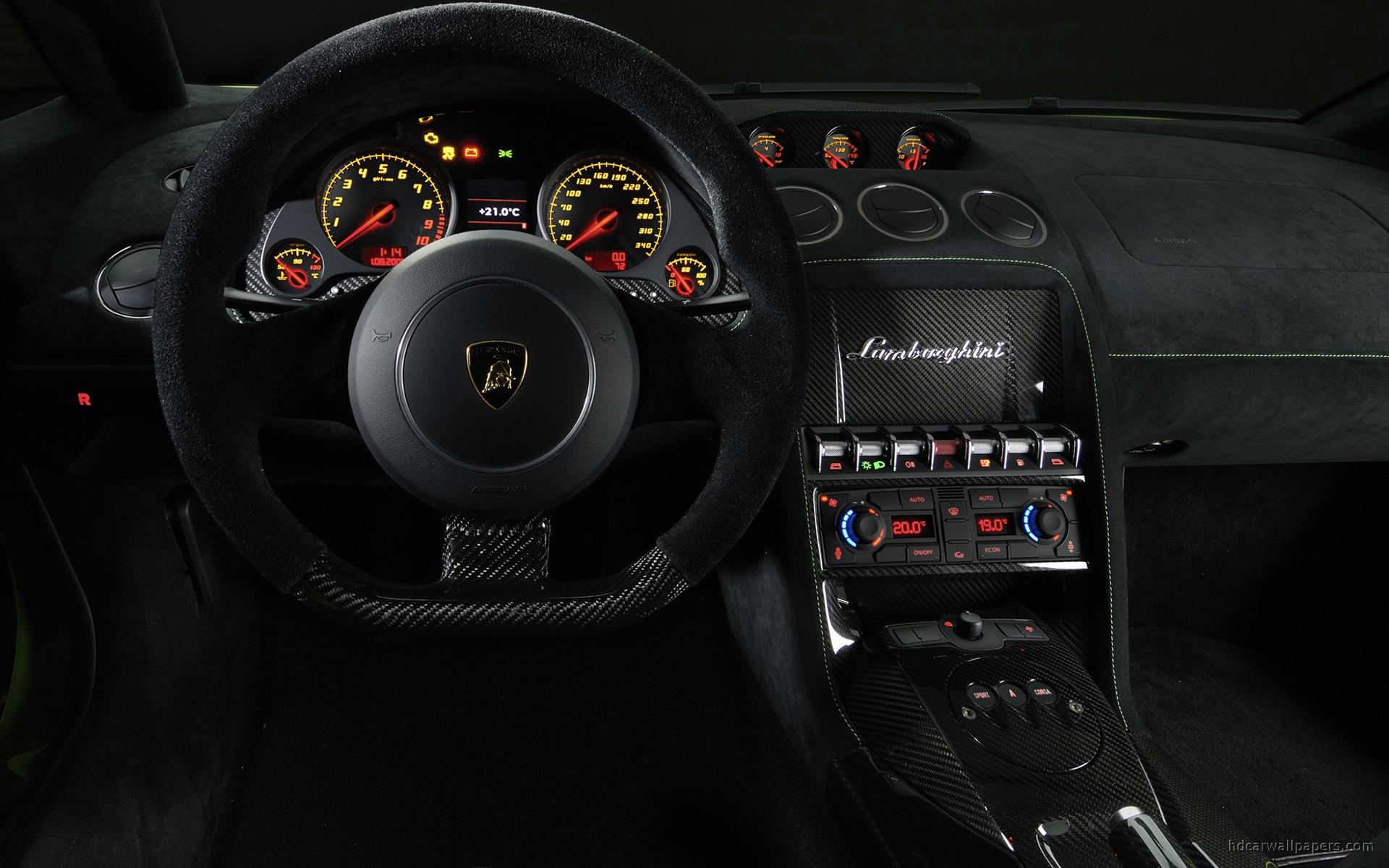 2011 Lamborghini Gallardo Lp 570 4 Superleggera Interior Wallpaper