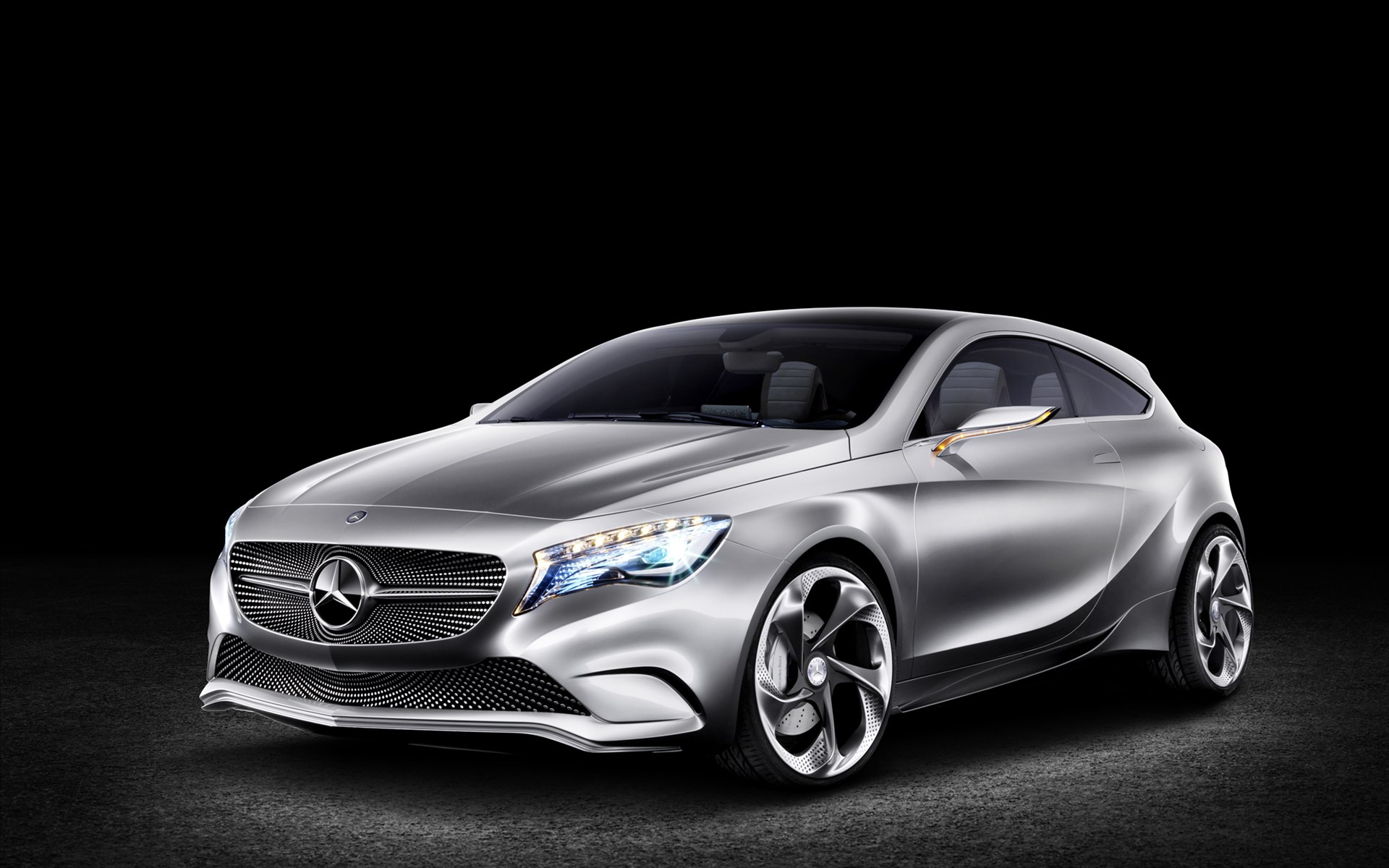 2011 mercedes benz concept a class wallpaper hd car. Black Bedroom Furniture Sets. Home Design Ideas