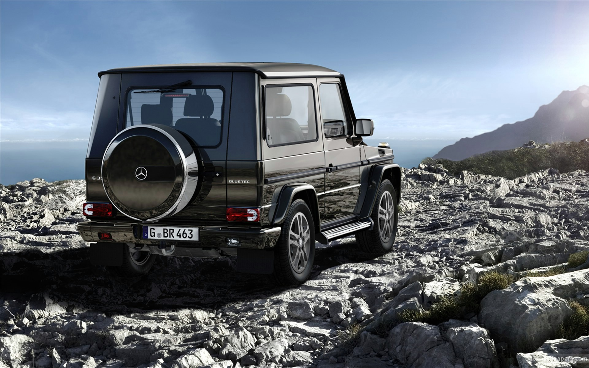 2011 Mercedes Benz G Class 2 Wallpaper Hd Car Wallpapers Id 2034