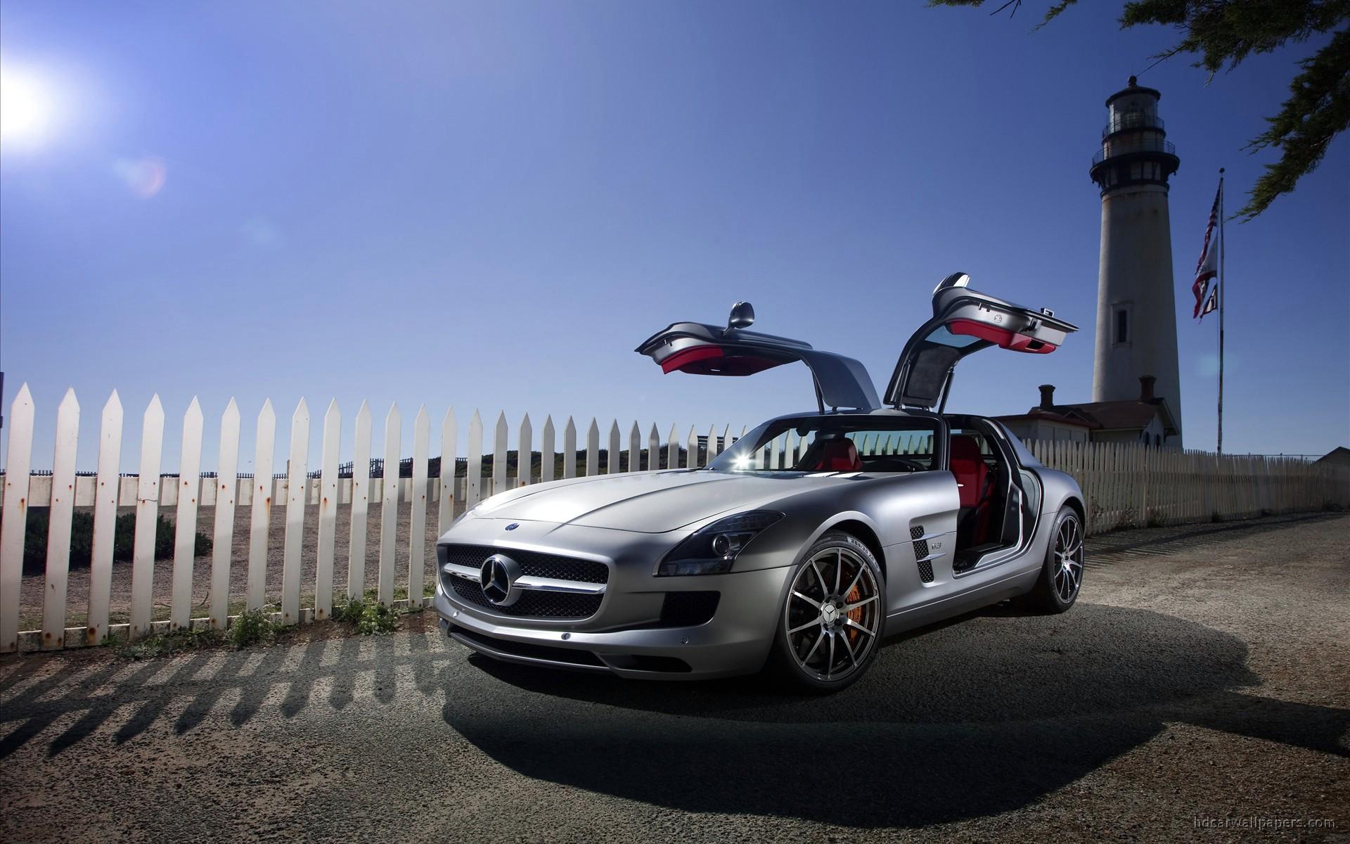 2011 Mercedes Benz SLS AMG 10 Wallpaper