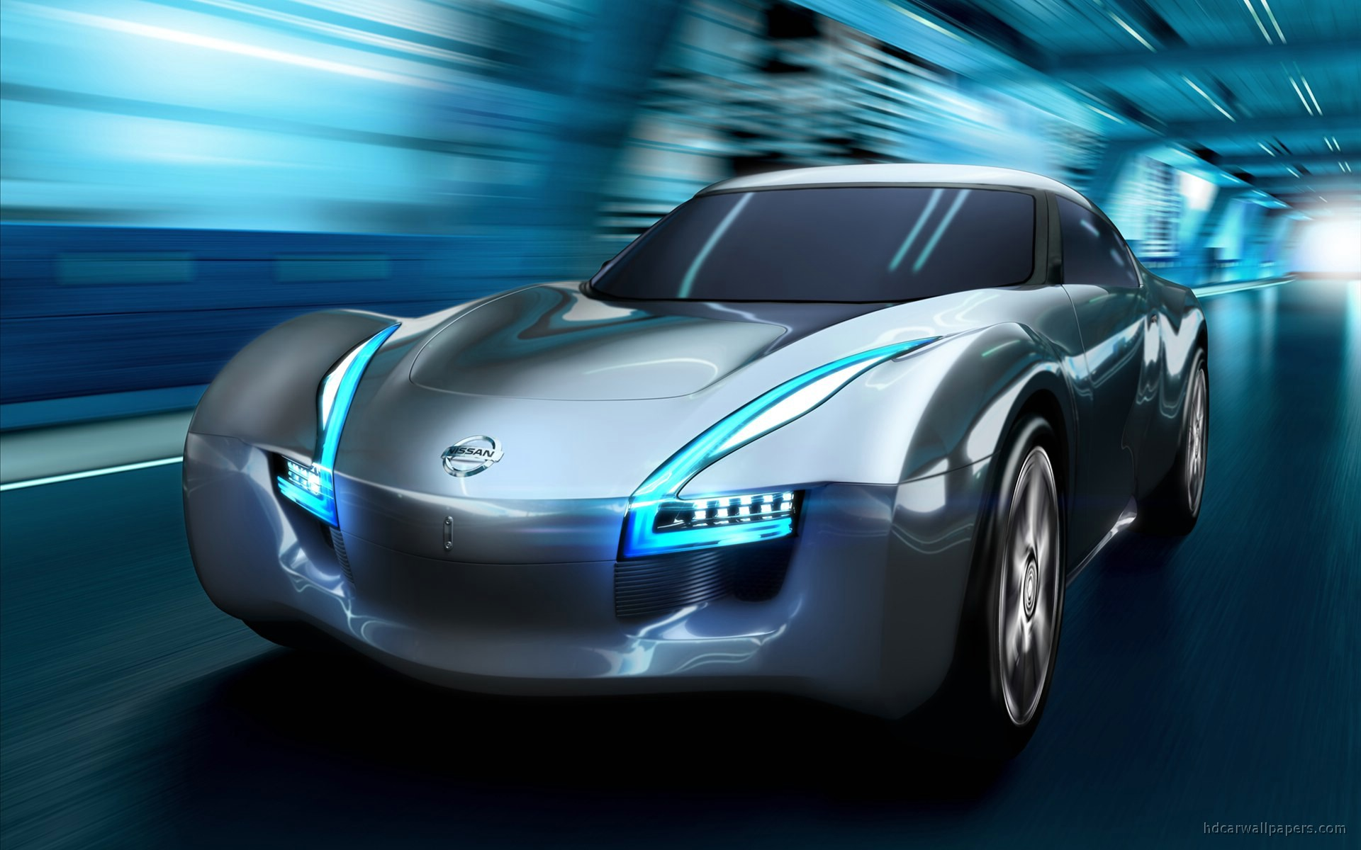 2011 Nissan Electric Sports Concept Car Wallpaper