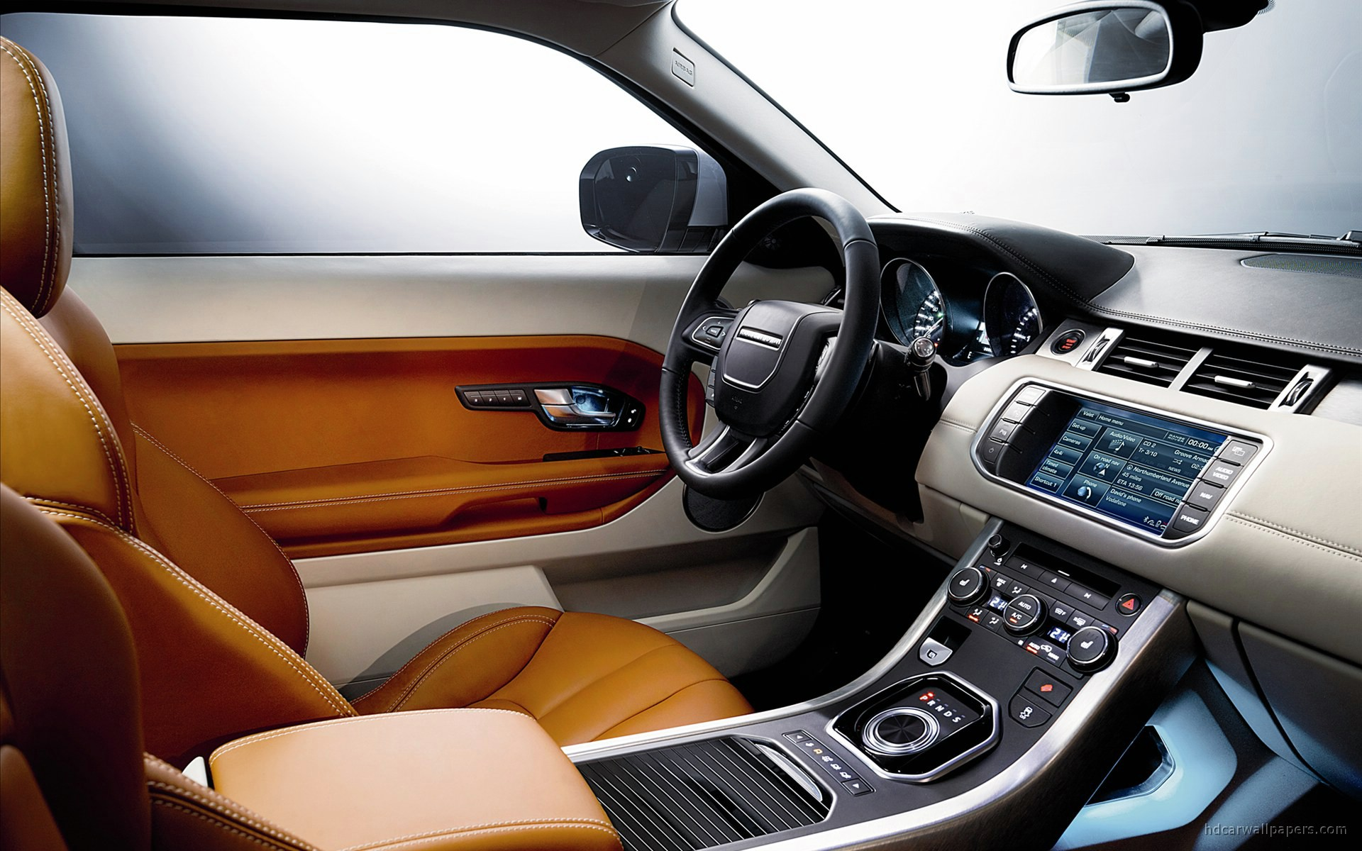2011 range rover evoque interior wallpaper hd car wallpapers id 1669