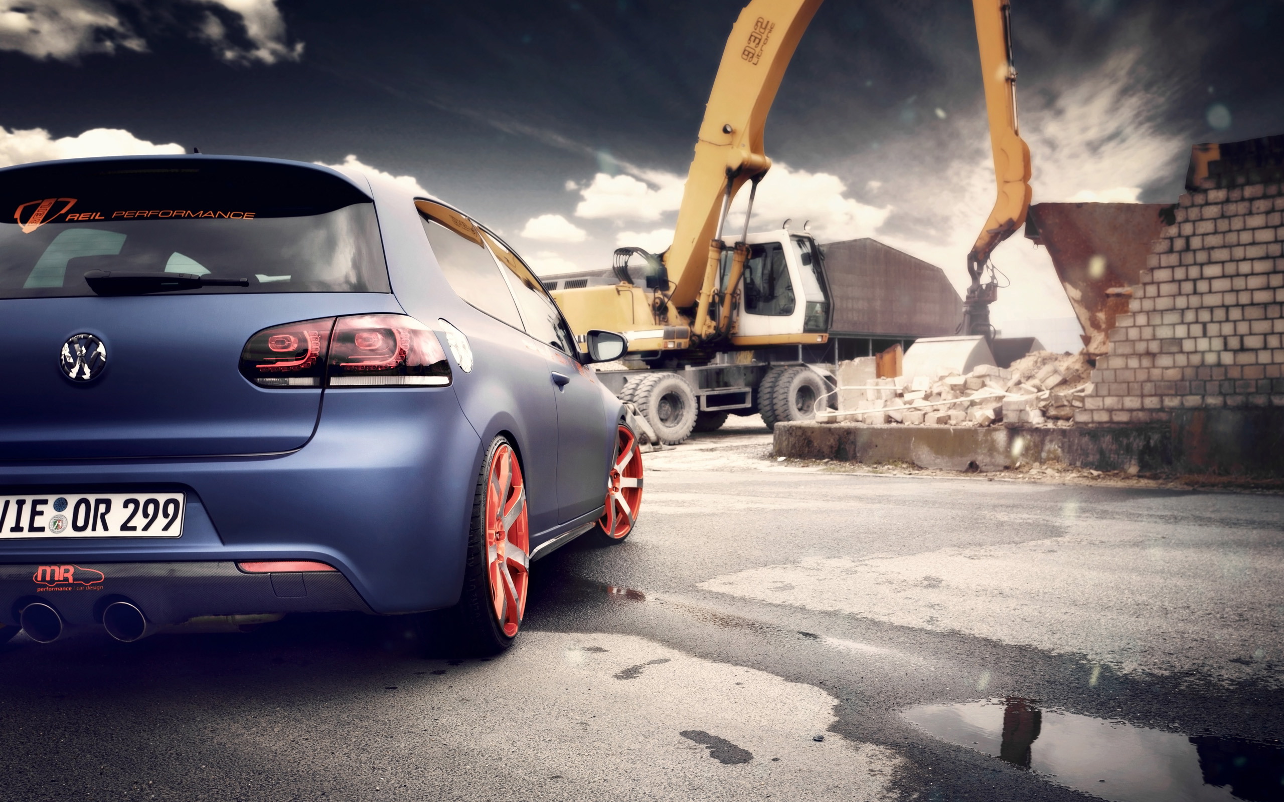2012 Bbm Volkswagen Golf 2 Wallpaper Hd Car Wallpapers Id 3670