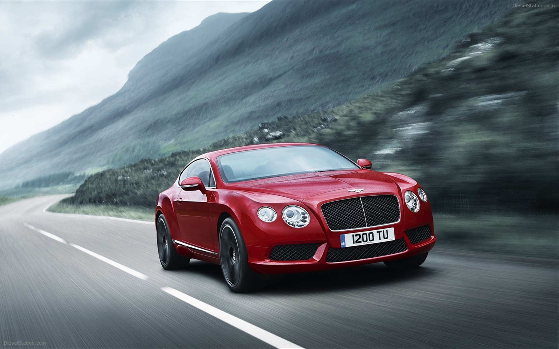 Bentley continental gt wallpaper hd