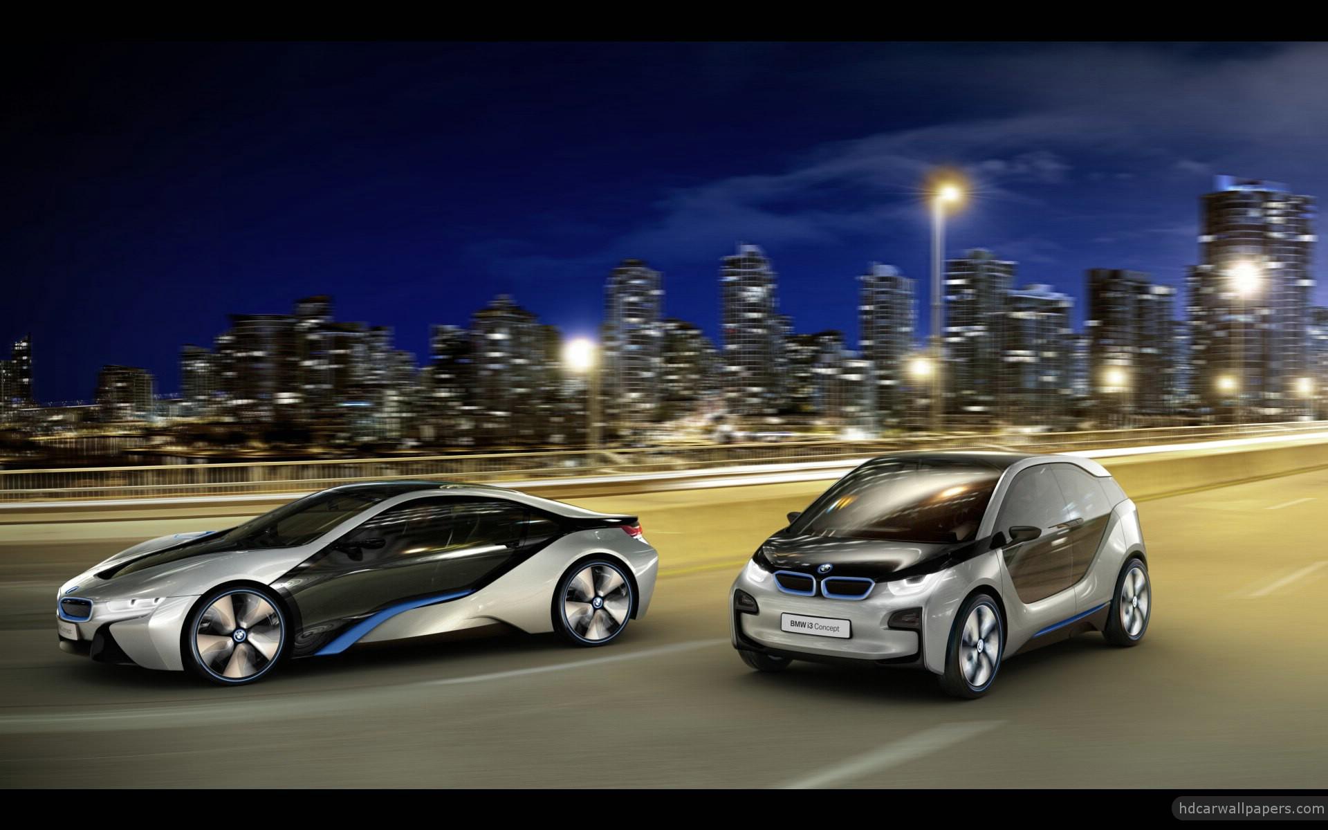 2012 Bmw I8 Amp I3 Concept Cars 3 Wallpaper Hd Car Wallpapers