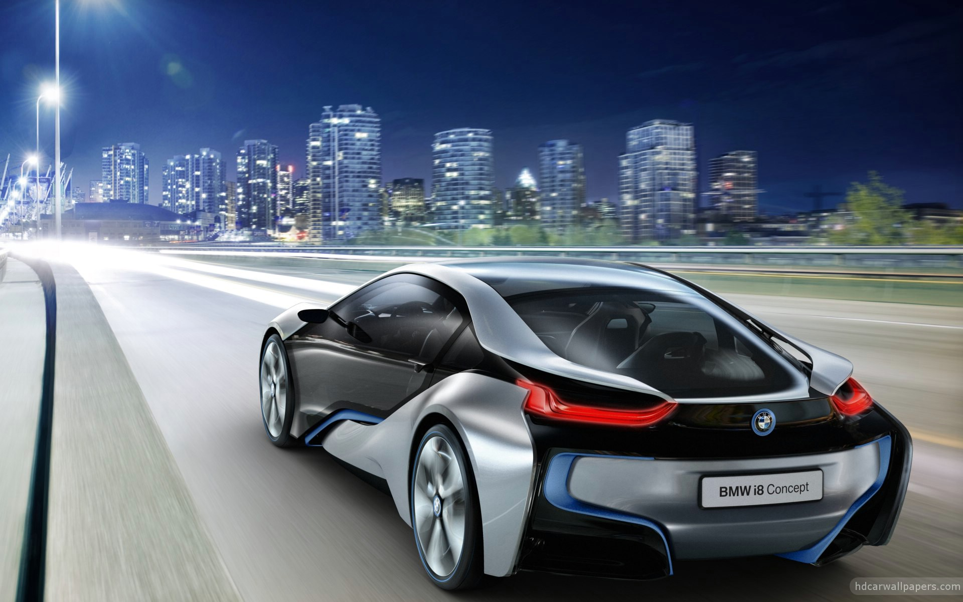 2012 Bmw I8 Concept 4 Wallpaper Hd Car Wallpapers Id 2156