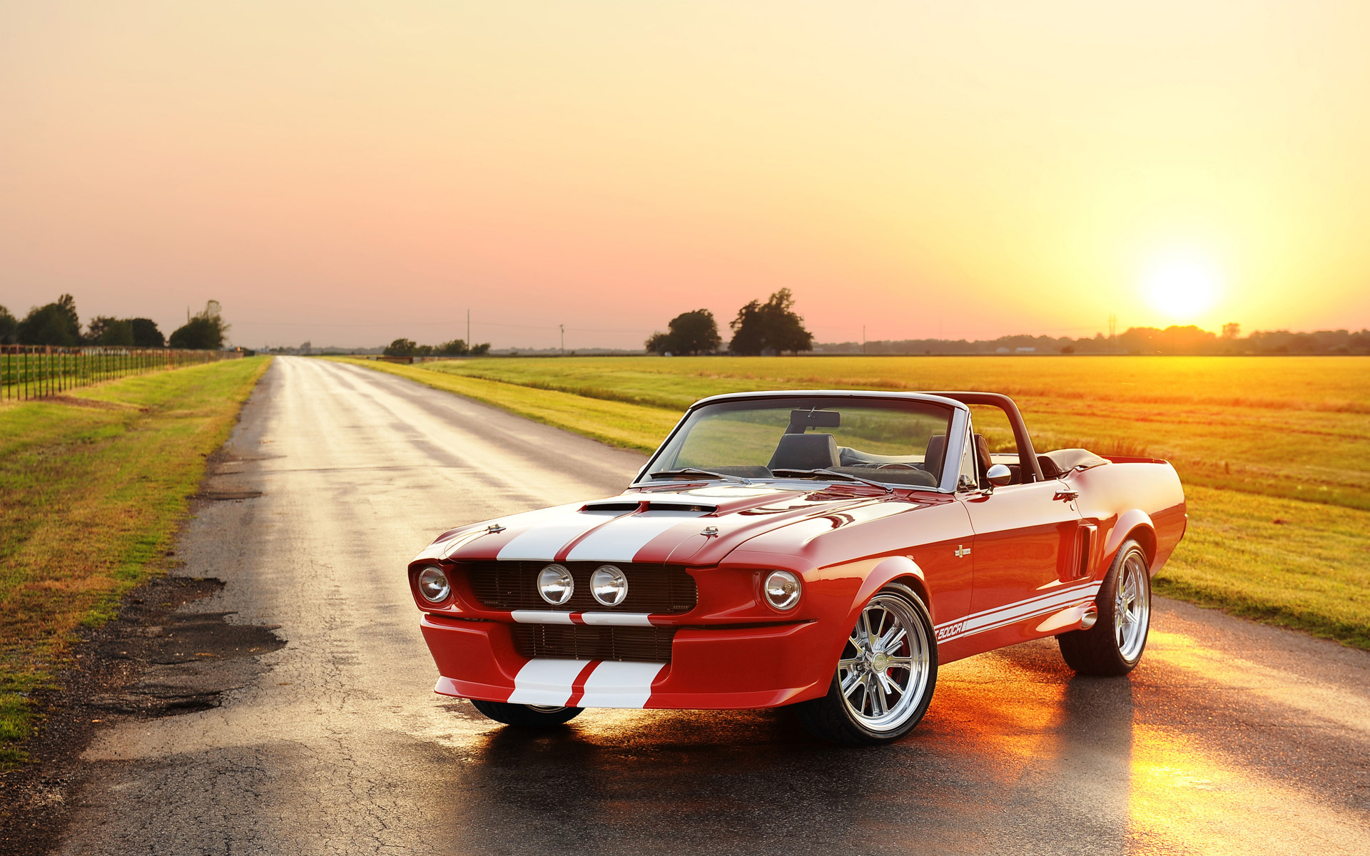 2012 Classic Shelby GT 500CR Convertible Wallpaper