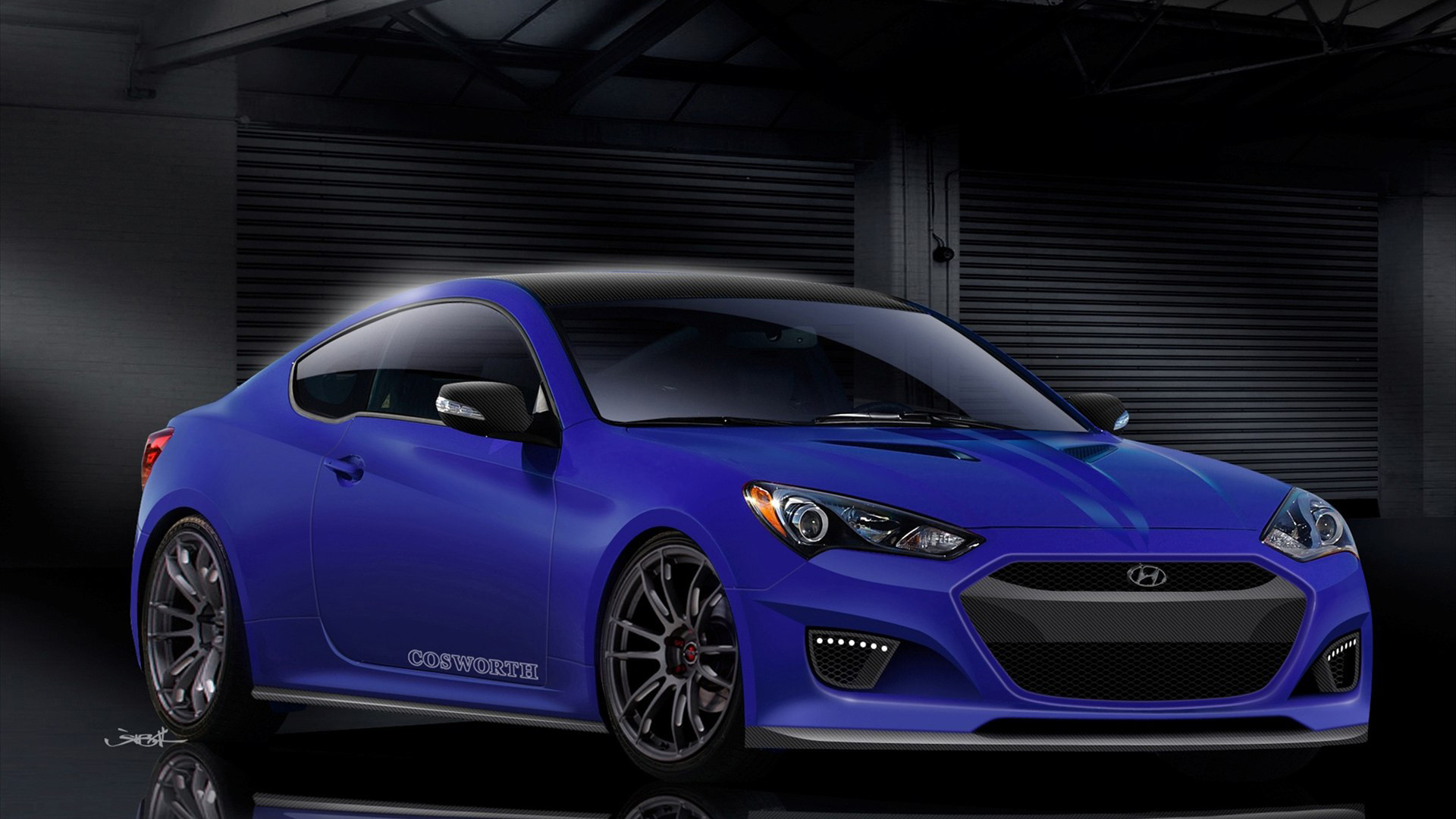 2012 cosworth hyundai genesis coupe wallpaper hd car wallpapers id 3132. Black Bedroom Furniture Sets. Home Design Ideas