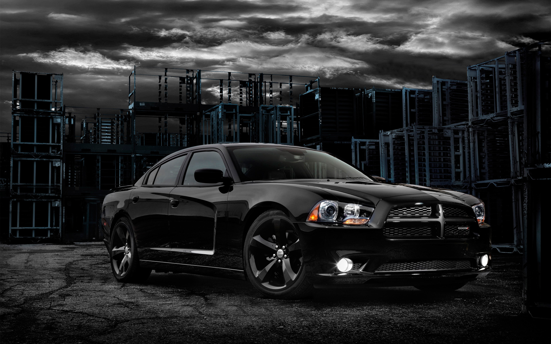 Dodge Charger Logo Wallpaper